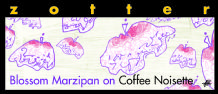 Zotter Blossom Marzipan On Coffee Noisette 40% 70g